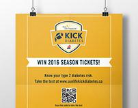 CDA Kick Diabetes campaign