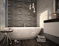 Yang bathroom interior