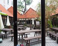 Chụp ảnh không gian nhà hàng Ầu Ơ