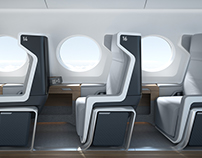 Boom Supersonic Airline Interior