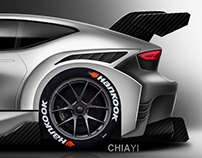 Sports Hatchback Concept - Racing Version