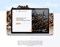 """Создание сайта для компании """"СарЛомТорг"""""""