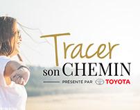 Toyota - VÉRO Campagne Web & Print