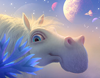 A horse trip to the Stars