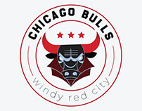 Chicago Bulls Logo Design - Windy Red City