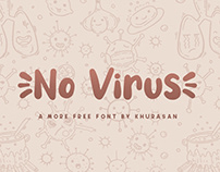 No Virus free font for commercial use