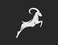 Antilopa - Animal logo design