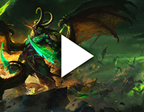 World of Warcraft Wallpapers Rendered in 3D using AI