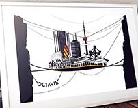 Poster, Octavia City, Italo Calvino.