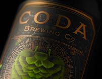 Coda Brewing Co 22oz bottles