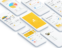 UX/UI Financial management app