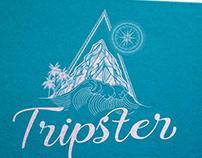 Logo Tripster, création loolye Labat