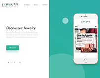 Jawalry template website