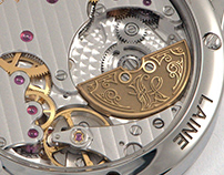 Lettering for Laine Watches | Laine V38