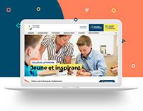Collège Letendre Website Design