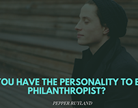 Pepper Rutland on if you have the personality