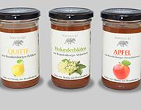 Etiketten für den Berliner Honig