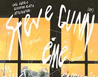 Steve Gunn Euro Tour - Gig Poster