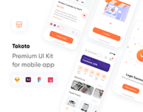 Tokoto - eCommerce UI Kit