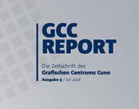 GCC Report - Redesign einer Zeitschrift
