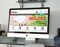 McCover.com - Refonte de site / DA & Webdesign