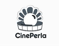 CinePerla-Logo Design