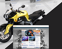 BMW Power Motorrad | Visual Identity and Branding