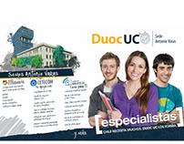 GRÁFICA PARA MATRÍCULA 2016 DUOC UC (ZONA NORORIENTE)