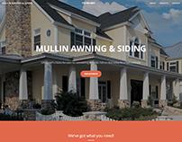 Mullin Awning & Siding Website
