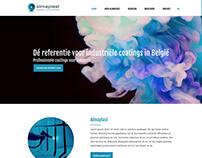 Almaplast UI/UX Design