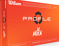 Packaging Concept for Wilson's Profile V Max Golf Balls