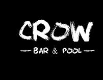 Menú para bar crow