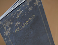 P.F. CHANG'S CHRISTMAS MENU DESIGN