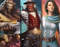 Characters. Set.2