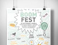 Boomfest Branding