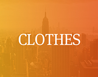 Clothes.Landing page
