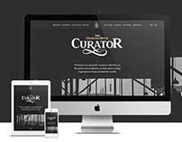 The Curator - content microsite