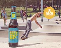 Front Backgrounds Beer Mockup