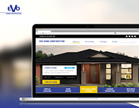 EVO home Web Design