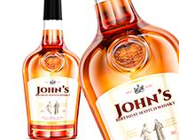 Whisky Bottle 3D