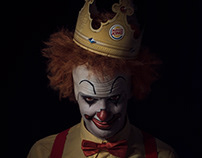 Burger King / Scary Clown Night