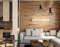 Zlatibor apartment, interior design