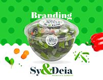 Sy&Deia Marmitaria Saudável - Branding