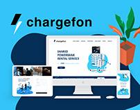 Chargefon Website Design