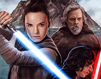 """Star Wars: The Last Jedi"" Tribute"