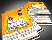 multimedia innovation flyer