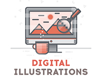 Digital Illustrations Collection
