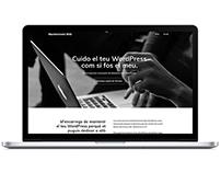 Diseño y Desarrollo WordPress pera Manteniment Web