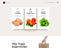 Veggie-SuperMarket Website