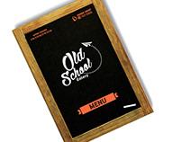 Old School Eatery Menu Design